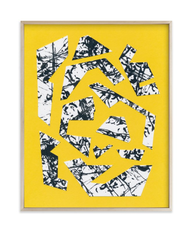"""""""1980 Collage"""" - Art Print by Kim Johnson in beautiful frame options and a variety of sizes."""