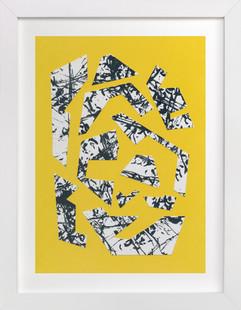 1980 Collage Art Print