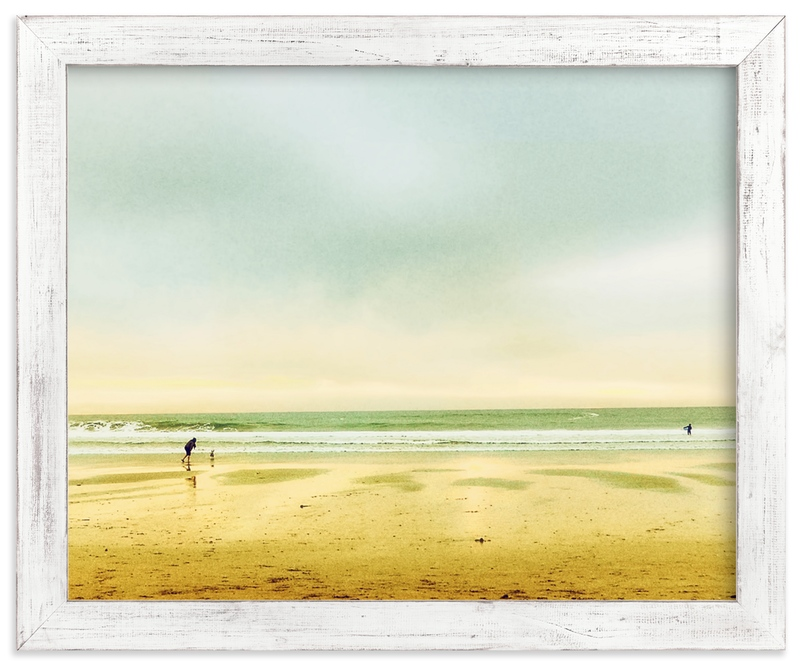 """""""Seaside Dreams"""" - Art Print by Michelee Scott in beautiful frame options and a variety of sizes."""