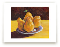 First Pears by Robert Deem