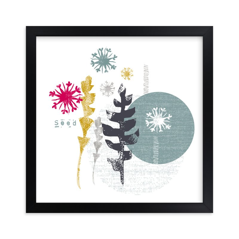 """""""Essential Garden: Seed"""" - Art Print by Eva Marion in beautiful frame options and a variety of sizes."""