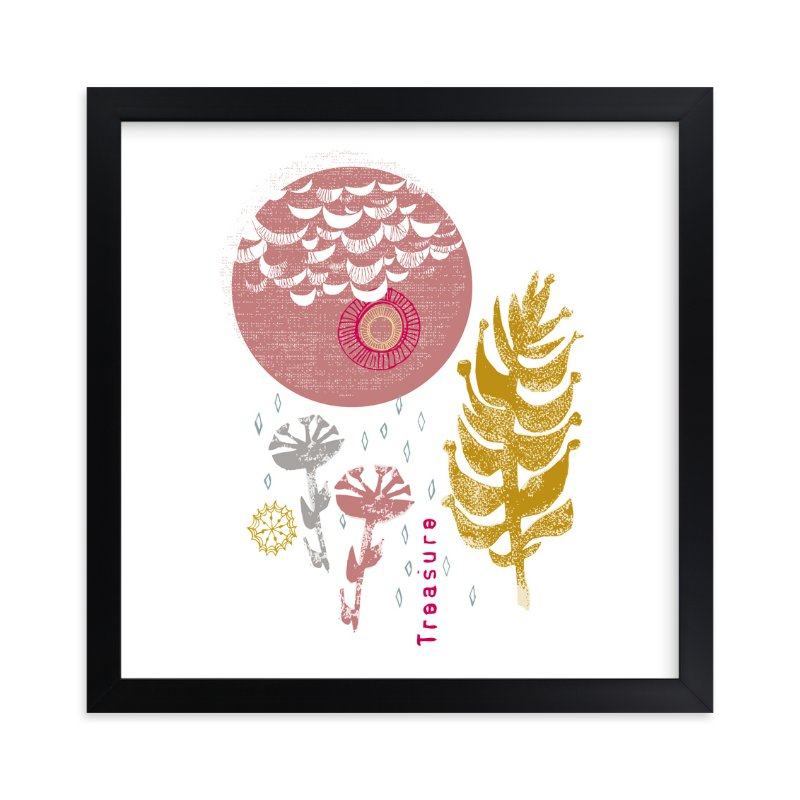 """""""Essential Garden: Treasure"""" - Art Print by Eva Marion in beautiful frame options and a variety of sizes."""