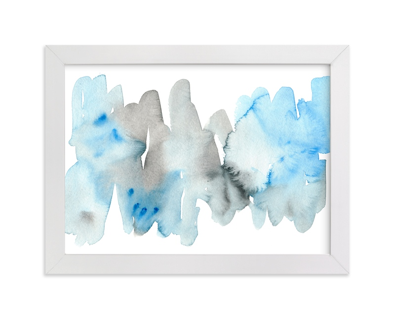 """""""Blue Bell"""" - Art Print by Kim Johnson in beautiful frame options and a variety of sizes."""