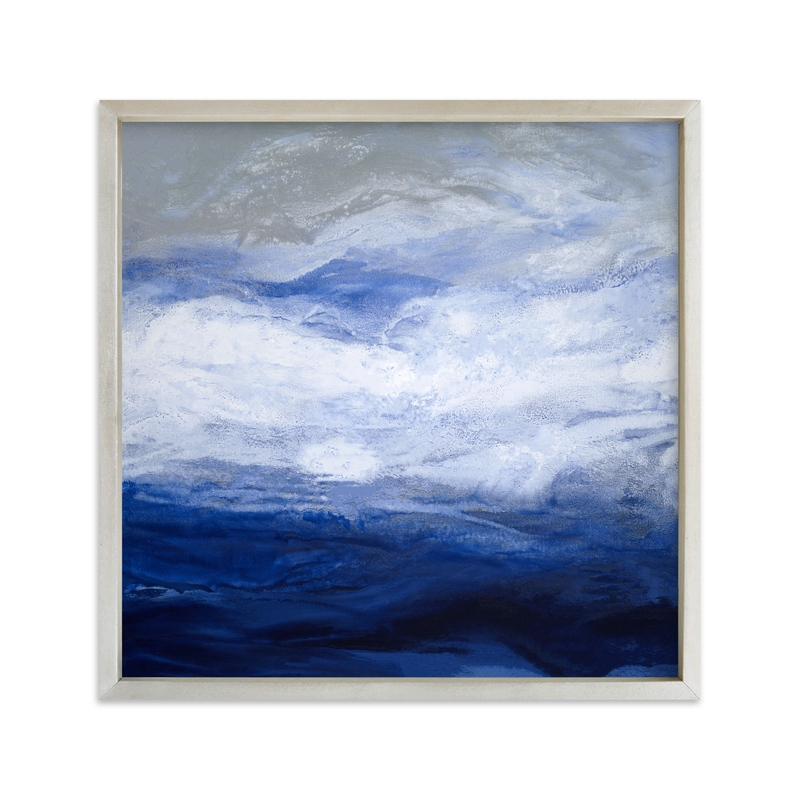 """starry seas II"" - Art Print by Teodora Guererra in beautiful frame options and a variety of sizes."