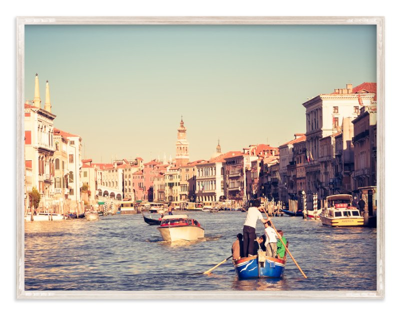 """""""Venice Venice No. 1"""" - Art Print by Qing Ji in beautiful frame options and a variety of sizes."""