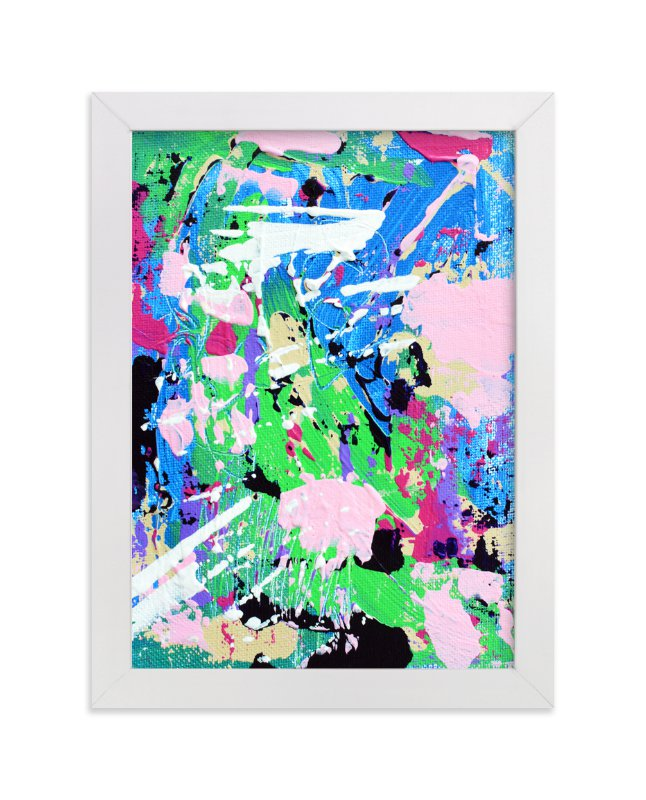 """Color Burst IV"" - Art Print by Pooja Pittie in beautiful frame options and a variety of sizes."