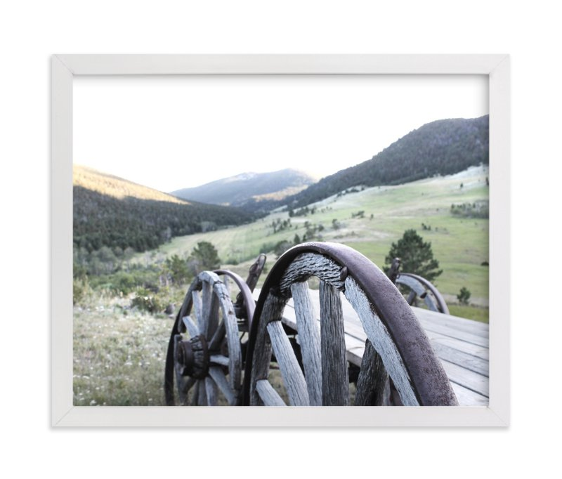 """""""Montana Memories"""" - Art Print by Karen Kaul in beautiful frame options and a variety of sizes."""