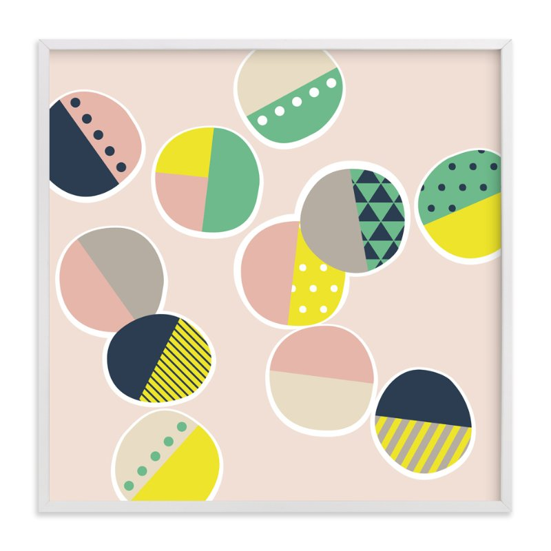 """""""Jamboree Polka Dots"""" - Art Print by Two if by Sea Studios in beautiful frame options and a variety of sizes."""