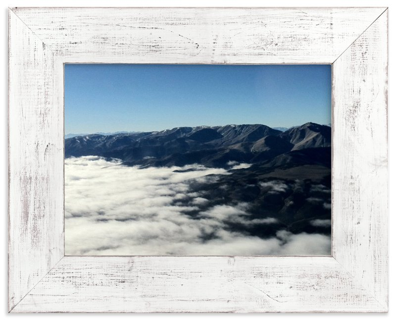 """White Mountains"" - Art Print by Jeff Vilkin in beautiful frame options and a variety of sizes."