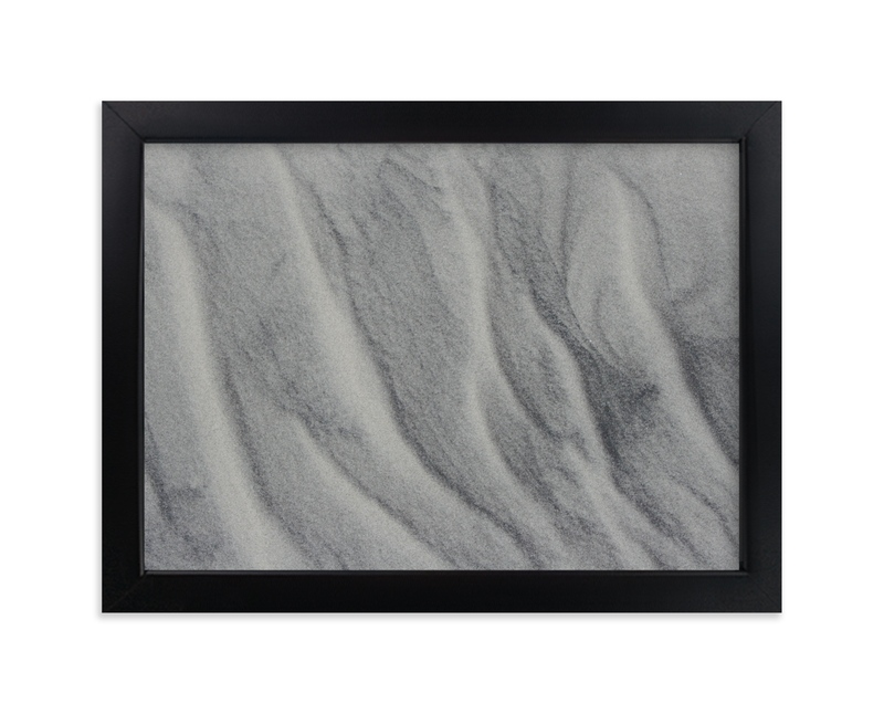 """Line in the Sand"" - Art Print by AJD in beautiful frame options and a variety of sizes."