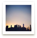 City and Sky by Lauren Matsumoto