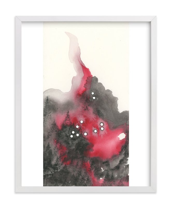 """Capricorn Constellation"" - Art Print by Emily Magone in beautiful frame options and a variety of sizes."