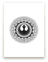 Rebel Mandala by The Tattered Traveler