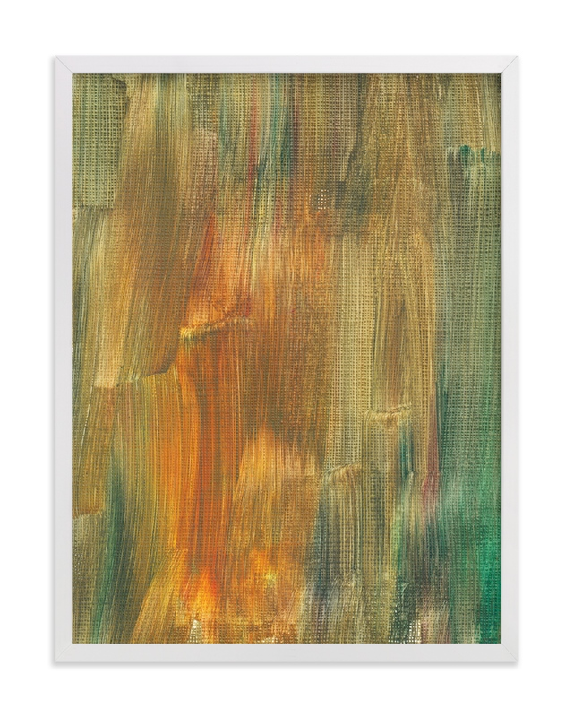 """""""Abstract Painting_6"""" - Art Print by aticnomar in beautiful frame options and a variety of sizes."""