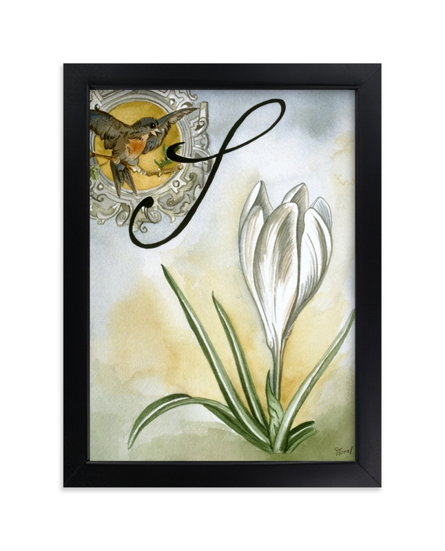 """""""Spring II"""" - Art Print by Stephanie Toral in beautiful frame options and a variety of sizes."""
