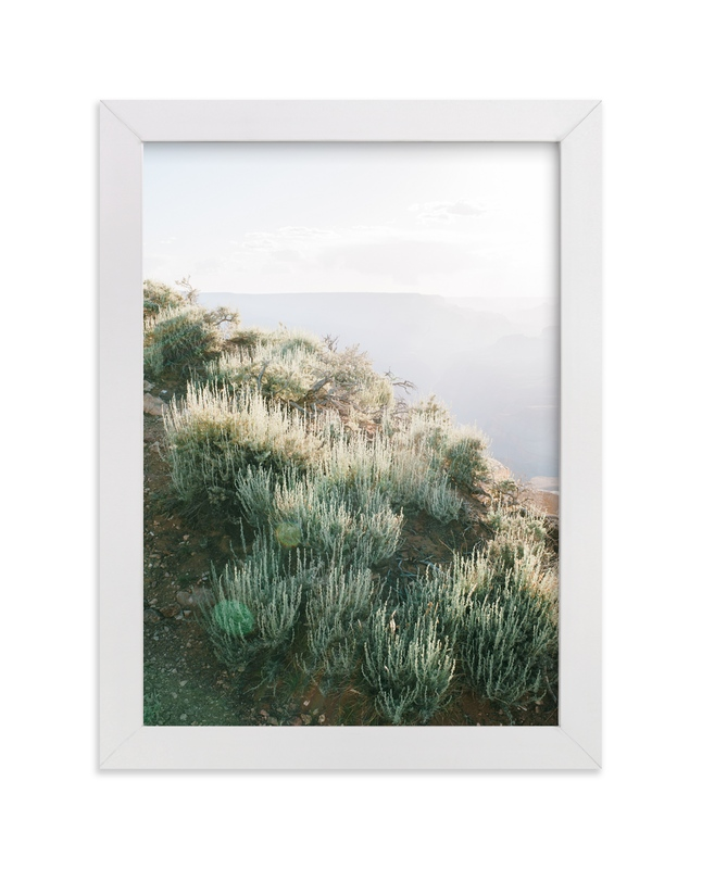 """""""Desert Sage"""" - Art Print by Anna Western in beautiful frame options and a variety of sizes."""