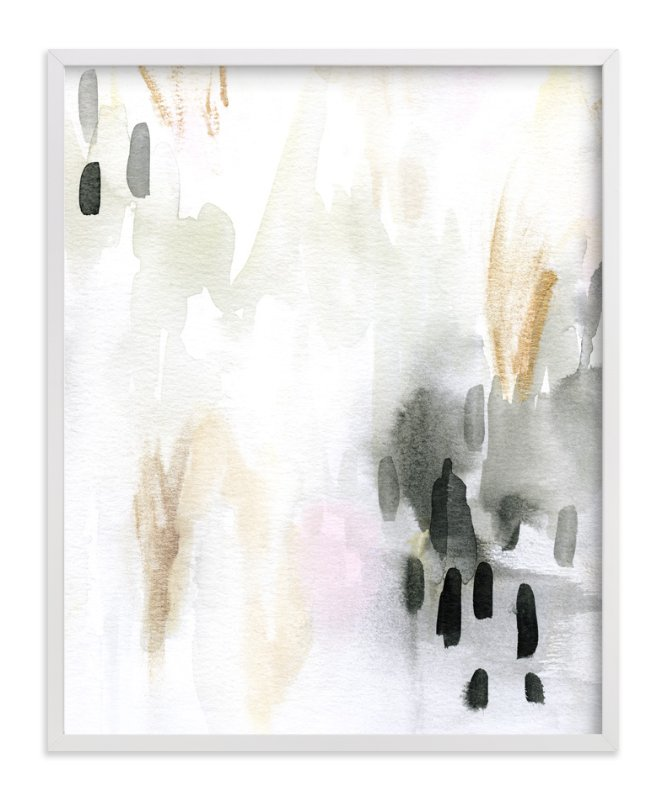 """Ever Softly"" - Art Print by Melanie Severin in beautiful frame options and a variety of sizes."