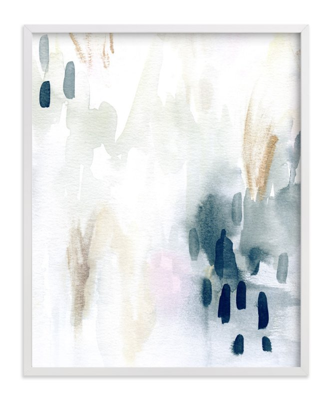"""""""Ever Softly"""" - Art Print by Melanie Severin in beautiful frame options and a variety of sizes."""