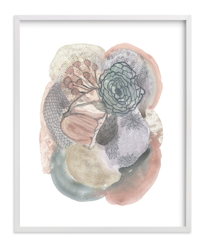 """""""Pastel Study"""" - Art Print by Maggie Burns in beautiful frame options and a variety of sizes."""