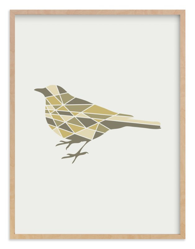 9013cd5752 Bird Geometry Wall Art Prints by Jennifer Morehead | Minted