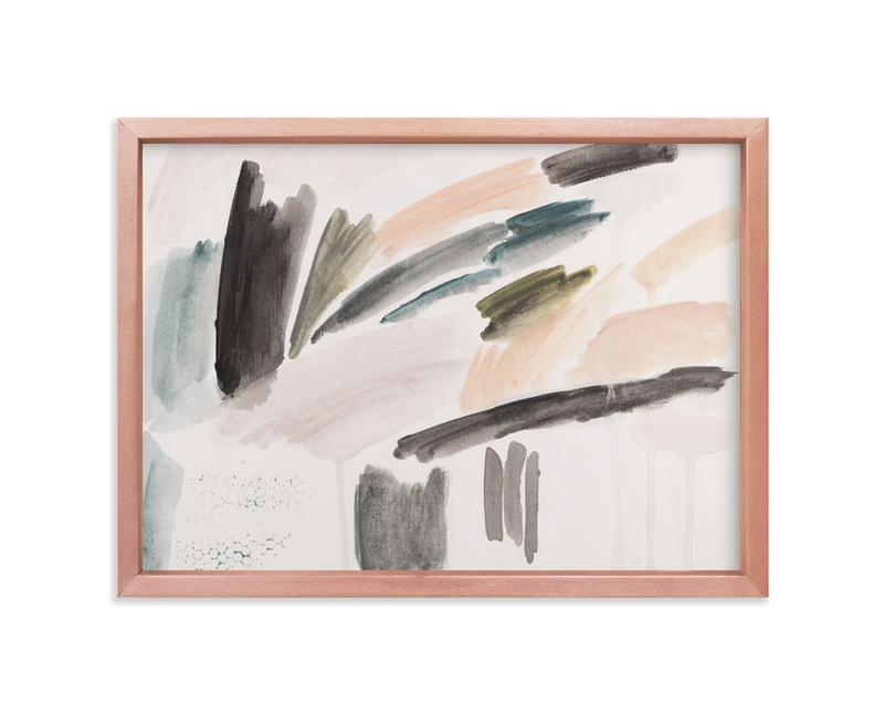 """Palm Springs II"" - Art Print by Lauren Packard in beautiful frame options and a variety of sizes."