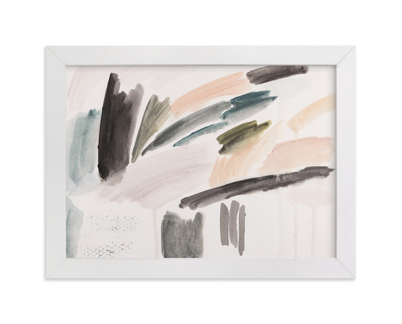 """""""Palm Springs II"""" - Art Print by Lauren Packard in beautiful frame options and a variety of sizes."""