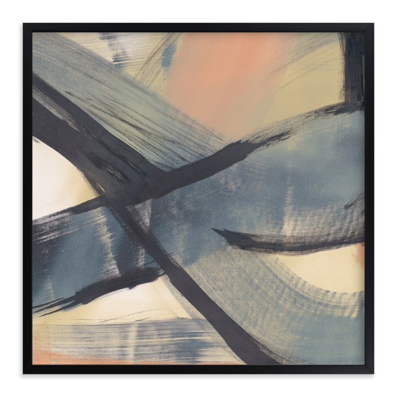 """Get Closer To Neutral Series 1"" - Art Print by Angela Simeone in beautiful frame options and a variety of sizes."