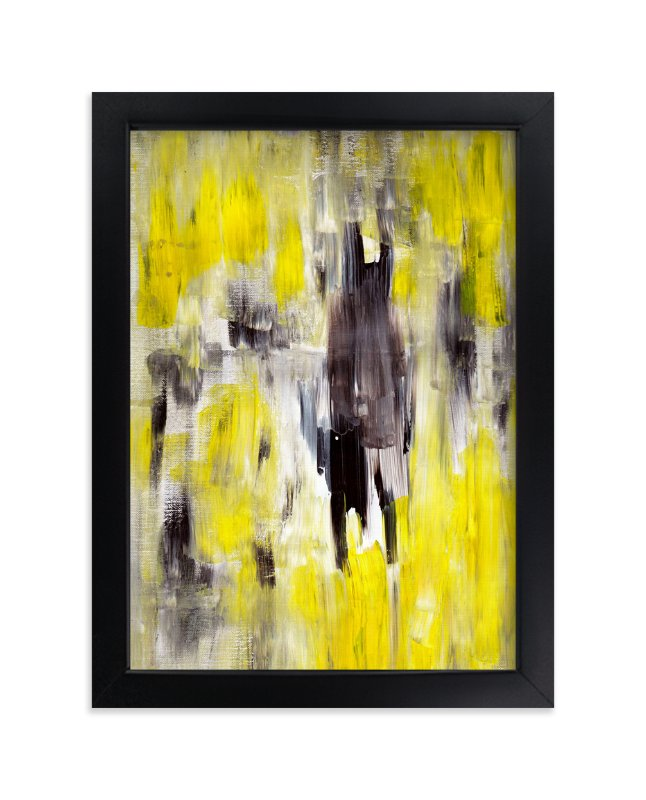 """Lemon Burst"" - Art Print by Ilana Greenberg in beautiful frame options and a variety of sizes."