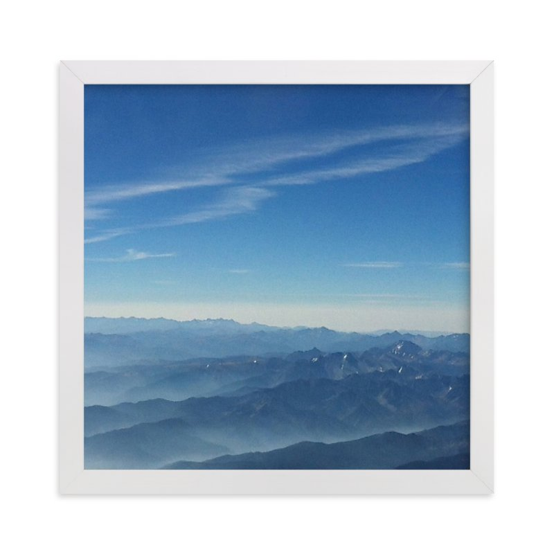 """""""Layers On High"""" - Art Print by Jeff Vilkin in beautiful frame options and a variety of sizes."""