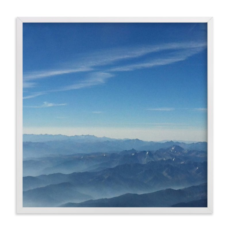 """Layers On High"" - Art Print by Jeff Vilkin in beautiful frame options and a variety of sizes."