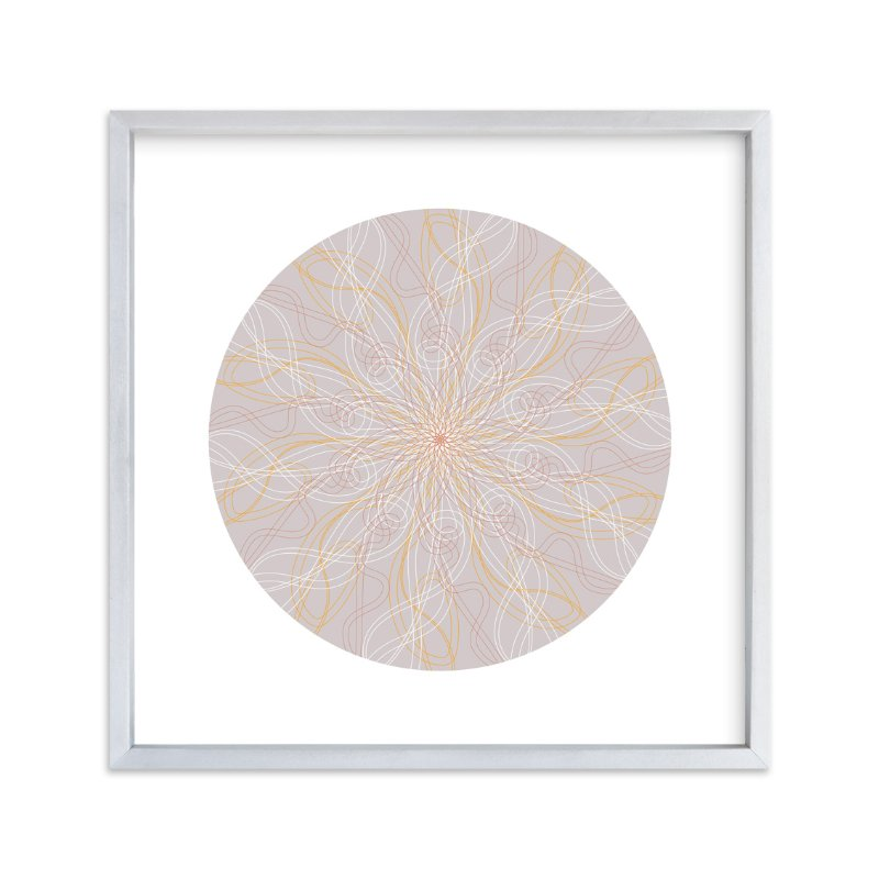 """""""Planet no.5 Day Dream"""" - Art Print by Jan Shepherd in beautiful frame options and a variety of sizes."""