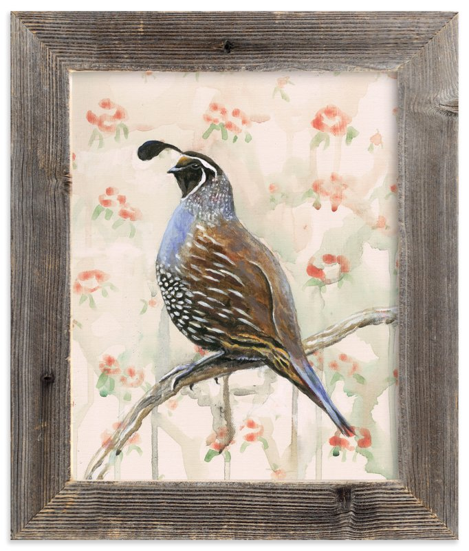 """""""Perciville Plume"""" - Art Print by Rebecca Weller in beautiful frame options and a variety of sizes."""