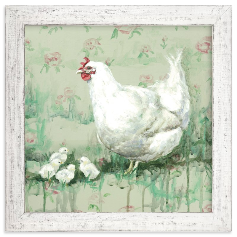 """""""Frannie Cottontuft"""" - Art Print by Rebecca Weller in beautiful frame options and a variety of sizes."""