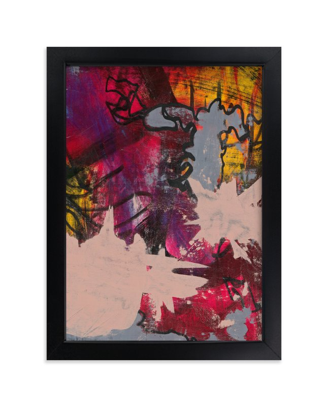 """""""Upstart Series 5"""" - Art Print by Angela Simeone in beautiful frame options and a variety of sizes."""