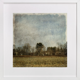 Cornfield on Farmington Avenue  Art Print