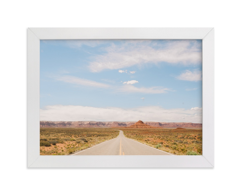 """Road to Valley of the Gods"" - Art Print by Anna Western in beautiful frame options and a variety of sizes."
