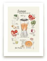 Illustrated recipe of g... by Rosana Laiz · Blursbyai