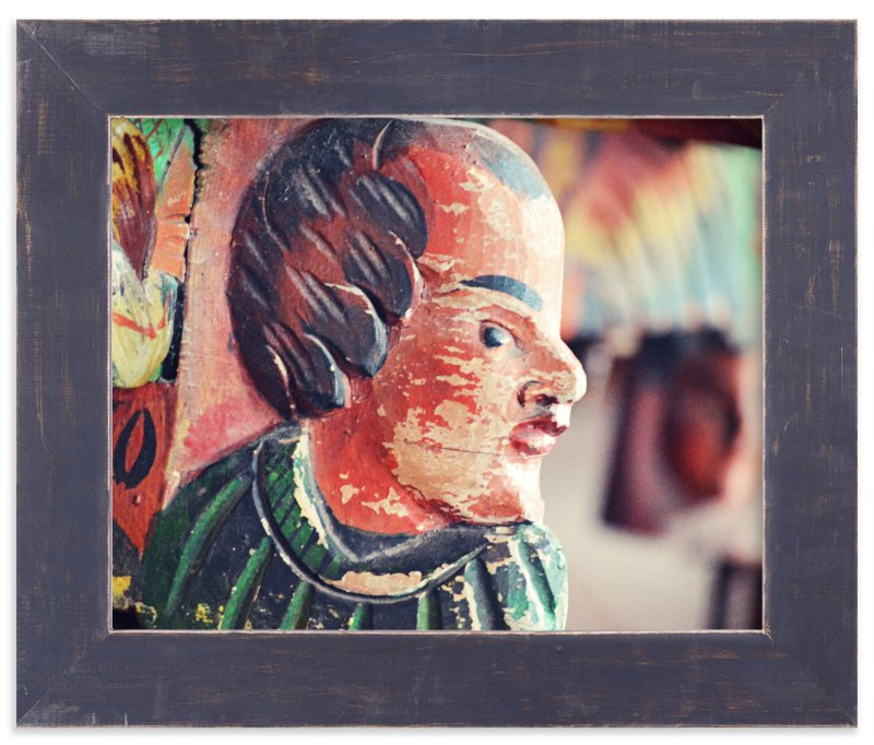 """""""Sideways Glance"""" - Art Print by Sara Heilwagen in beautiful frame options and a variety of sizes."""