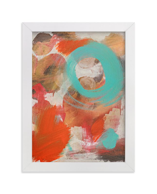 """""""Give it a Whirl"""" - Art Print by Stacy Kron in beautiful frame options and a variety of sizes."""