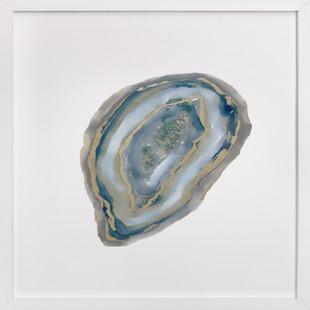 Aqua Agate  Art Print