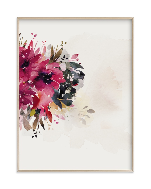 """Bloom Portrait"" - Art Print by Lori Wemple in beautiful frame options and a variety of sizes."