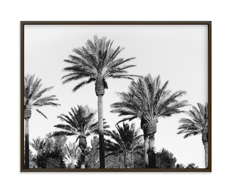"""""""Laid Back Palms"""" - Art Print by Janelle Wourms in beautiful frame options and a variety of sizes."""