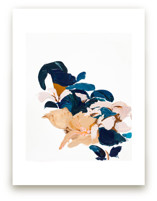 Abstract Botanical by Caryn Owen