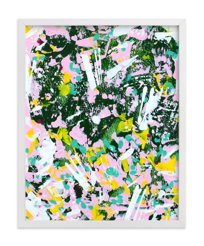 """Camo I"" - Art Print by Pooja Pittie in beautiful frame options and a variety of sizes."