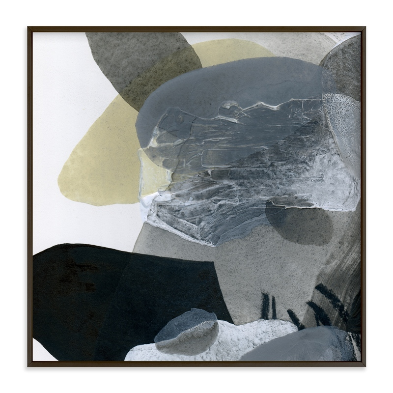 """""""Shape Study 4"""" - Art Print by Ashleigh Ninos in beautiful frame options and a variety of sizes."""