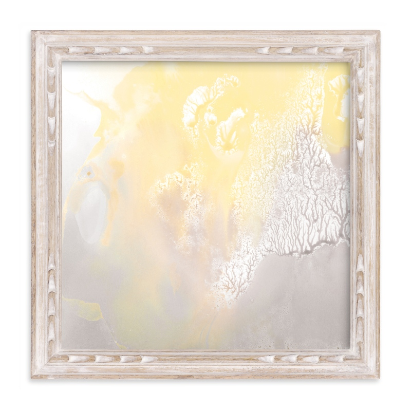 """""""Foggy dawn"""" - Art Print by Halik Helen in beautiful frame options and a variety of sizes."""