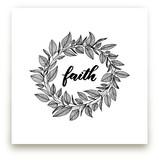Faith Wreath by LY
