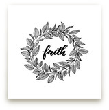 Faith Wreath by LY