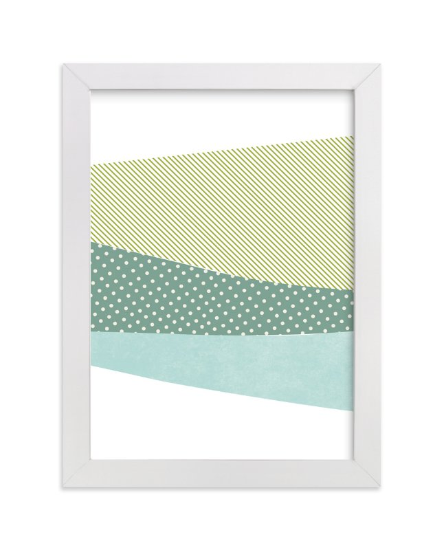 """""""mountain scape"""" - Art Print by R studio in beautiful frame options and a variety of sizes."""