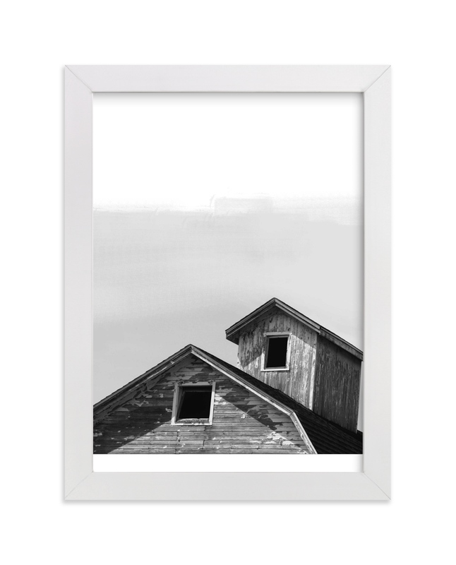"""""""Salvage - Barn Series 3"""" - Art Print by That Girl Studio in beautiful frame options and a variety of sizes."""